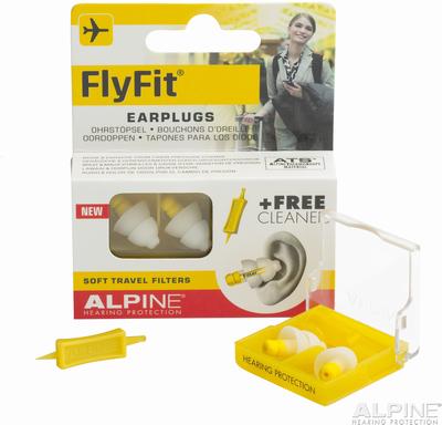 飛行機 機内 耳栓 flyfit